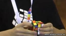 Новый мировой рекорд по собиранию кубика Рубика