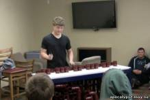 Игра на обрезках пластиковых труб - супер