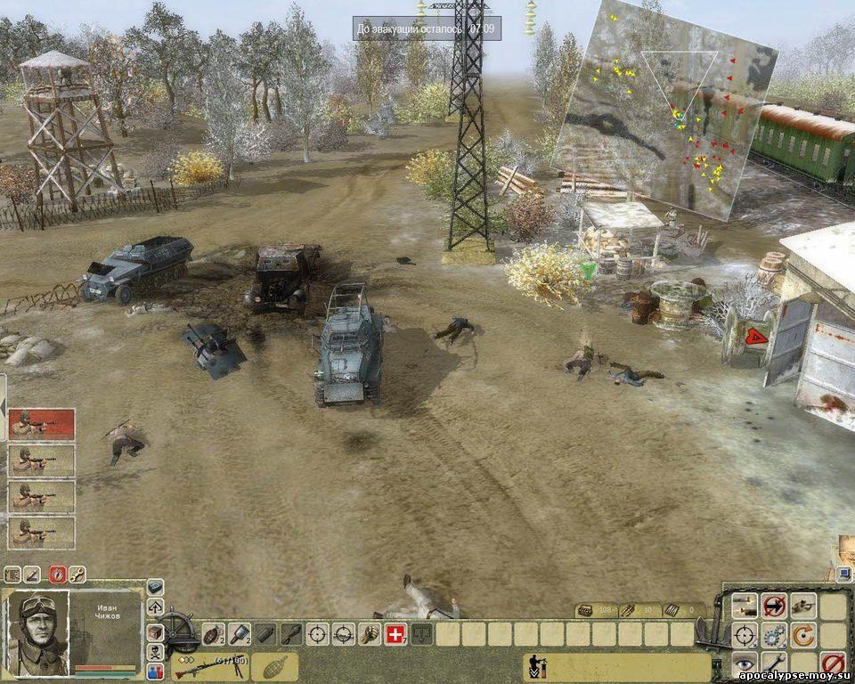 Техника в игре, в отличие от артиллерии, сделана весьма грамотно. Бронемашины, попавшие в засаду хорошо замаскированной пехоты, просто обречены